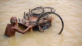 Der Anstieg des Meeresspiegels bedroht vor allem die Menschen in armen Ländern.