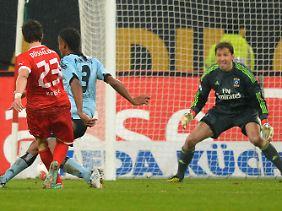 Robbie Kruse nutzte die erste Chance der Düsseldorfer zur Führung gegen den HSV. Davon erholten sich die Gäste nicht mehr.