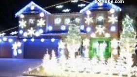 """Weihnachtshaus in Texas: Lichterflackern im Takt zu """"Gangnam Style"""""""