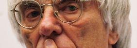 Mr. Unverzichtbar: Bernie Ecclestone, Formel-1-Boss.