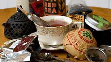 Heilkraut, Warmmacher, Grünes Gold: Ein Hoch auf den Tee