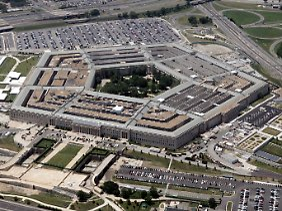 Haus mit fünf Ecken: Das Pentagon in Washington.