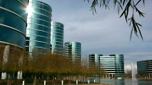 Oracle-Hauptquartier in Redwood/Kalifornien.