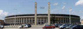 Haupteingang des Berliner Olympiastadions.