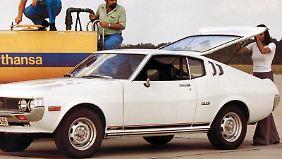 """Die """"Liftback""""-Version der Celica zeichnete sich durch das gestreckte Coupé-Heck mit der großen Klappe aus."""