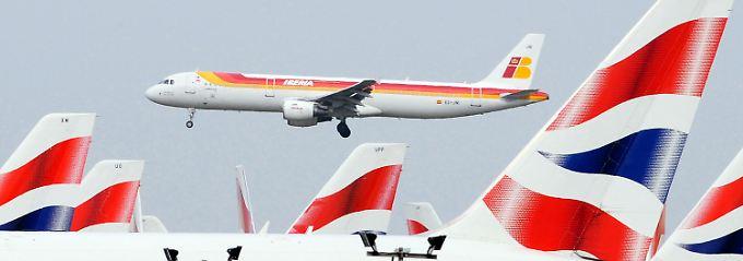 Bald unter gemeinsamer Flagge: Iberia und British Airways.