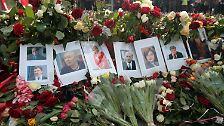 """""""Die Elite der Nation ist gestorben"""": Polnische Präsidentenmaschine stürzt ab"""