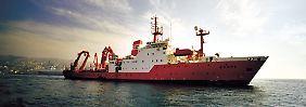 """Forschungsschiff """"Sonne"""": Platz für rund 50 Crew-Mitglieder."""