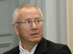 Gerhard Schmid kämpft für einen Freispruch.
