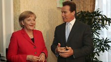 Merkel meets every VIP in Los Angeles: Angie goes to Hollywood