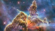 """Das legendäre Teleskop wird 25: """"Hubble"""" zeigt die Farbenpracht des Alls"""