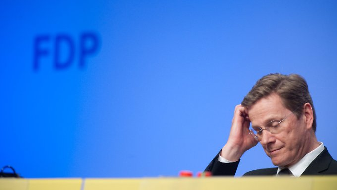 """Guido Westerwelle könnte bald in der """"Trainerdiskussion"""" stehen."""