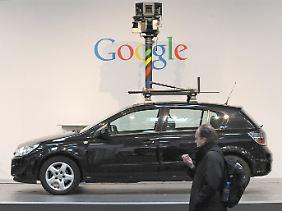 Massen-Scan: Bei Street View wurden nicht nur Bilder geschossen.