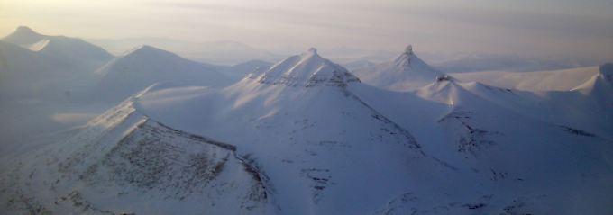Der Luftraum über der Arktis.