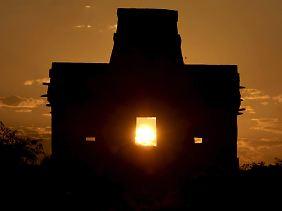 Die wohl berühmtesten Pyramiden Mexikos stehen in Chichén Itzá auf der mexikanischen Halbinsel Yucatan.