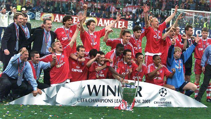 In ihrem bislang letzten internationalen Finale holten sich die Bayern 2001 zum vierten Mal die Champions League.
