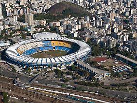 Im Maracanã-Stadion kommt so richtig Stimmung auf, wenn die lokalen Erzrivalen Flamengo und Fluminense gegeneinander antreten.
