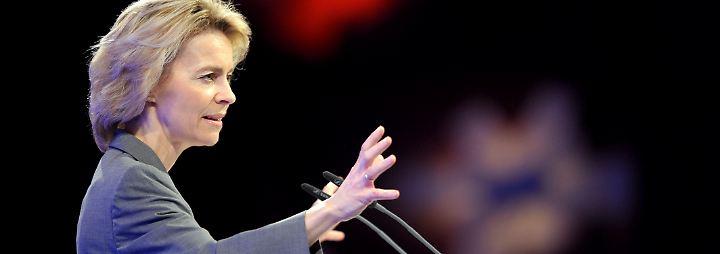 Merkels Allzweckwaffe: Ursula von der Leyen