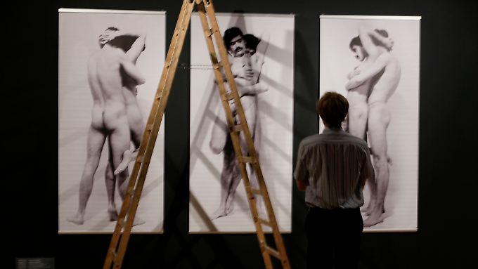 """Die Werke auf der """"Ars Homo Erotica"""" in Warschau ..."""