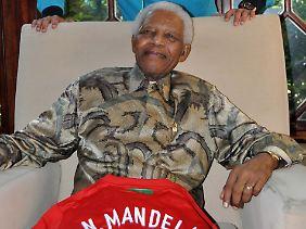 Nelson Mandela ist Südafrikas Lichtgestalt.