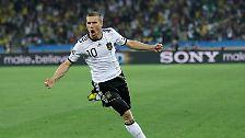 Podolski explodiert, Klose zündet: Deutschland feiert WM-Traumstart
