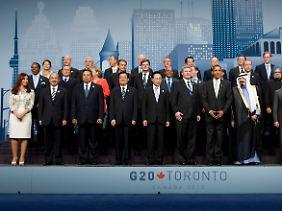 Ein bisschen Schuldenabbau: Die G20-Staaten haben sich zumindest auf ein Ziel geeinigt.