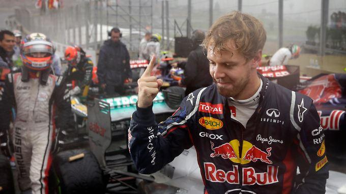 Dritter WM-Streich in Sao Paulo: Sebastian Vettel reichte dazu ein sechster Platz.
