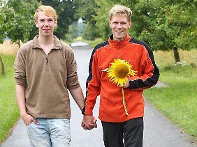 Das passt: Timo (r.) und sein Denny.