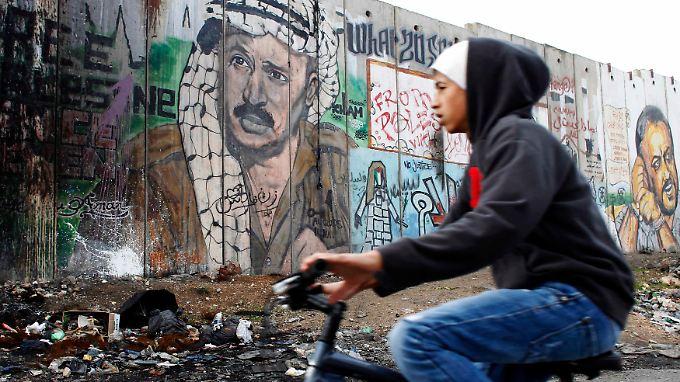 Für die Palästinenser ist Jassir Arafat noch immer eine Ikone.