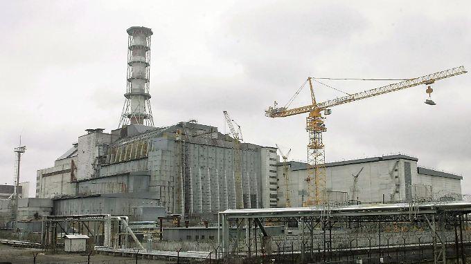 Die Atomruine soll besser geschützt werden.