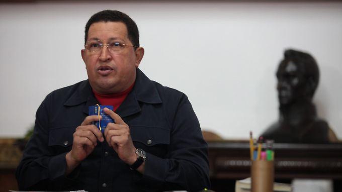 Chávez ist möglicherweise doch nicht geheilt.