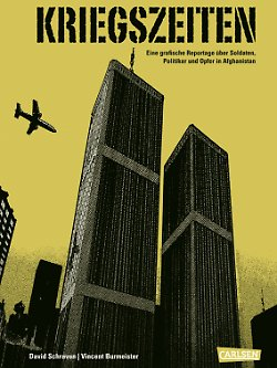 """""""Kriegszeiten"""" ist im Carlsen-Verlag erschienen, hat 128 Seiten im Hardcover und kostet 16,90 Euro (D)."""