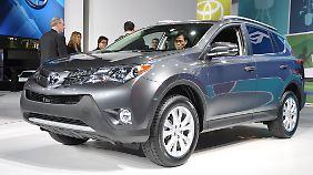 Der neue Toyota RAV4 wird erstmals in LA gezeigt.