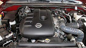 Durchzugskräftig und nur mäßig durstig: Der 2,5 Liter große Dieselmotor.