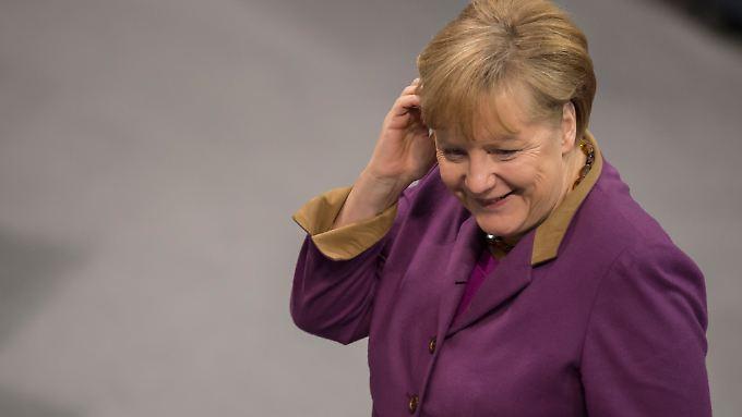 Angela Merkel will weiter tun, was für Deutschland und Europa am besten ist.