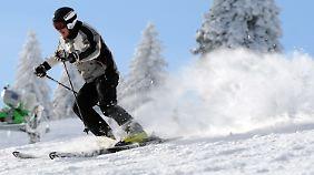 Skifreuden auf dem Feldberg