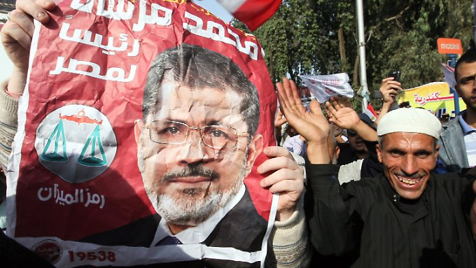 Mursis Anhänger dominierten das Straßenbild von Kairo.
