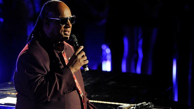 Wird nicht am Benefizkonzert für das israelische Militär teilnehmen: Stevie Wonder.