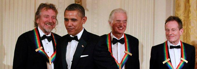 """Obama sagt über die Musiker von Led Zeppelin: """"Diese Typen haben den Lebensstil des Rock'n'Rolls neu definiert."""""""