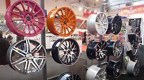 Räder und Reifen haben immer noch den höchsten Anteil im Tuning-Geschäft.