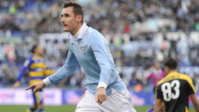 """""""Sein Tor war ein Meisterstück eines echten Angreifers"""": Miroslav Klose."""