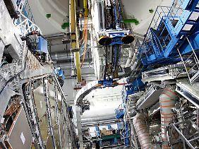 Der Teilchenbeschleuniger LHC im CERN.