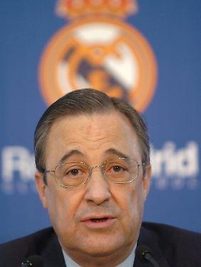 Das Verhältnis von Mourinho und Real-Präsident Florentino Pérez gilt als angespannt.