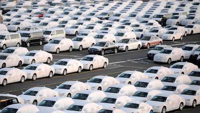 Ready for shipping: Deutsche Autos gehen gehen vor allem abseits des Heimatmarktes.