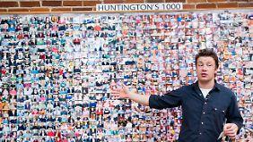 Jamie kriegt sie alle: 1000 Huntingtoner folgen ihm an die Kochtöpfe.