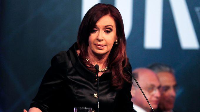 Hier ist schwerlich was zu holen: Argentiniens Präsidentin Cristina Fernández de Kirchner.