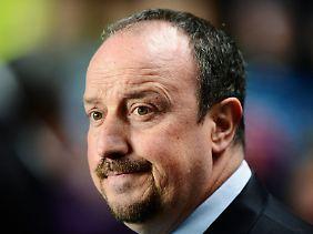 Für Chelsea-Coach Rafael Benitz war die Partie gegen die Dänen eine harte Probe.