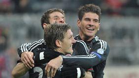 Kollektive Bayern-Freude beim letzten CL-Gruppenspiel gegen Borissow