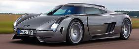 Für 750.000 Euro soll de neue Super-Bolide von Audi zu haben sein.