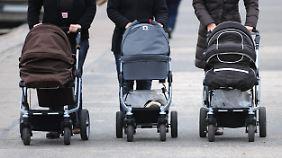 Im nächsten Jahr gibt es für Neugeborene im Schnitt etwas weniger Elterngeld.